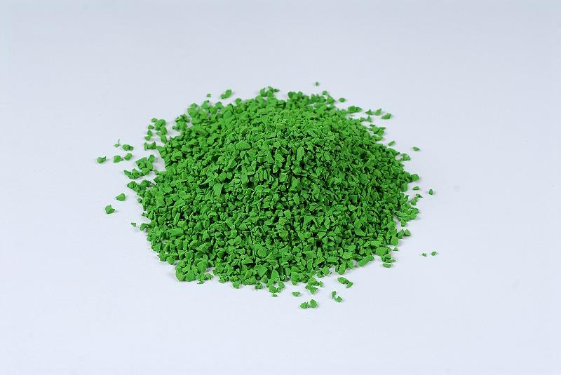 EPDM彩色颗粒绿