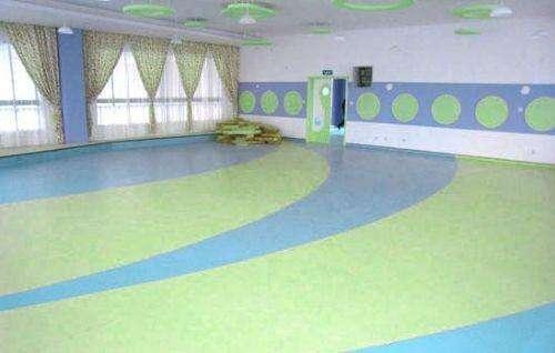 pvc运动塑胶地板