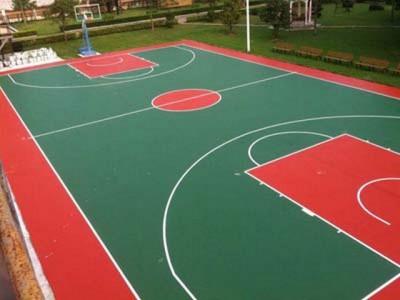 盐城硅PU篮球场施工公司