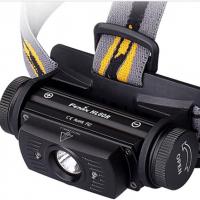便携USB充电双光源夜跑灯户外防水头灯强光钓鱼灯 950流明 HL60R 山脉户外