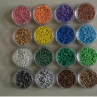 环保型颗粒透气型塑胶跑道销售