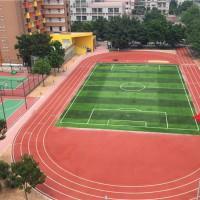 上海塑胶跑道铺装前地面基础验收