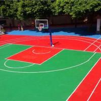 丽水学校标准硅pu篮球场造价多少钱?
